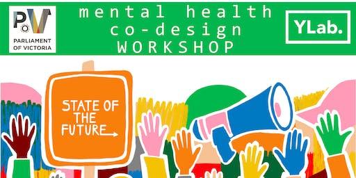 Youth Mental Health Co Design Workshop