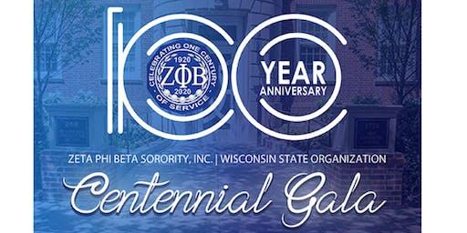 Wisconsin Zetas Centennial Gala