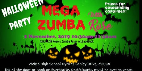 HALLOWEEN MEGA Zumba with Rose! tickets