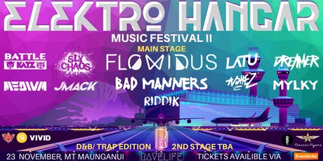 ELEKTRO HANGAR MUSIC FESTIVAL II tickets