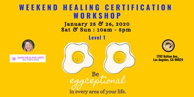 Weekend Healing Certification Workshop-Level 1