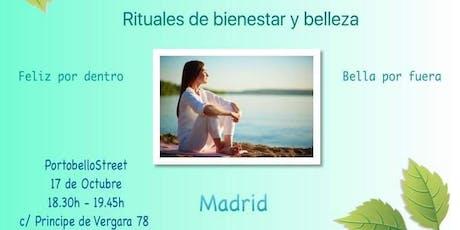 Rituales de bienestar y belleza entradas
