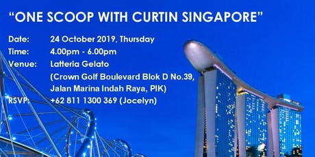 One Scoop With Curtin Singapore tickets