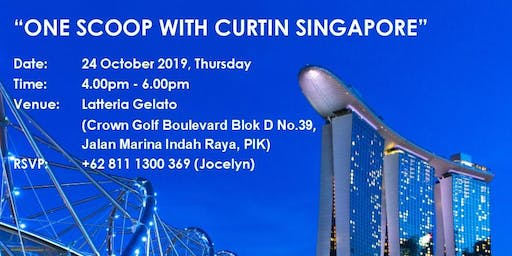 One Scoop With Curtin Singapore
