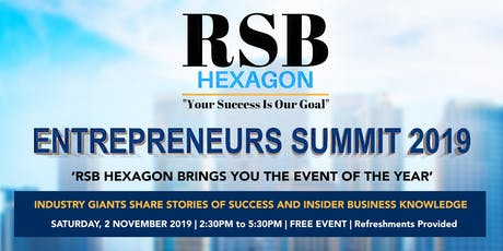 ENTREPRENEURS SUMMIT 2019 tickets