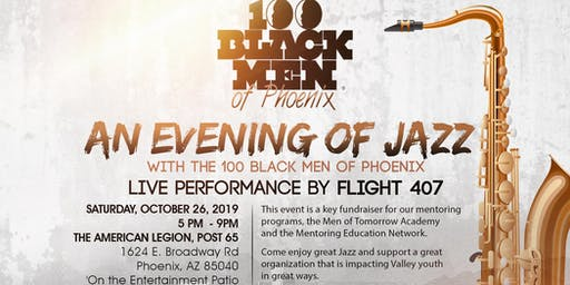 An Evening of Jazz with The100 Black Men of Phoenix