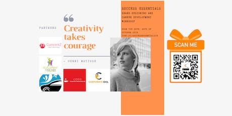 Success Essentials: Brand Designing & Career Development tickets