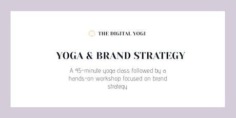 Yoga & Brand Strategy tickets