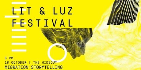 Lit & Luz Festival: Migration Storytelling tickets