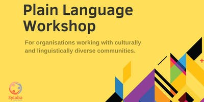 Plain Language Workshop | For Organisations Working with CALD Communities