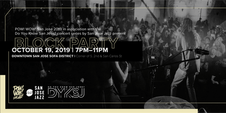 POW! WOW! San Jose 2019 Block Party tickets
