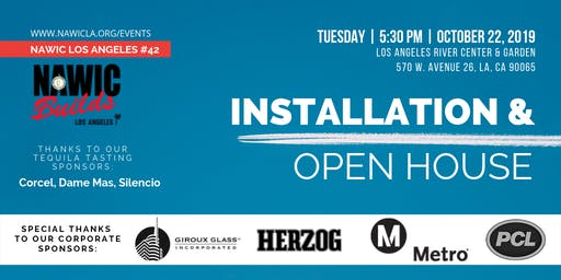 NAWIC LA Installation & Open House
