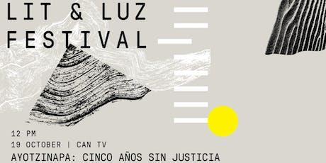 Lit & Luz Ayotzinapa: Cinco años sin justicia tickets