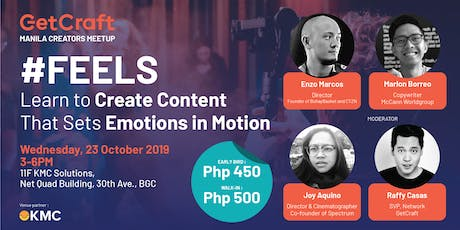 #FEELS Learn to Create Content That Sets Emotions in Motion tickets