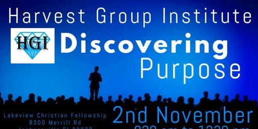 HGI Discovering Purpose Conference