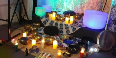 Full Moon Sound Healing Bath Meditation Psychic Holistic Fair