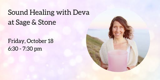 Sound Healing with Deva Munay & Crystal Tones Singing Bowl Sale