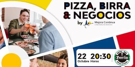 Pizza, Birra y Negocios entradas