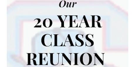 South High Rebels Class of 2000 - 20 YEAR CLASS REUNION tickets