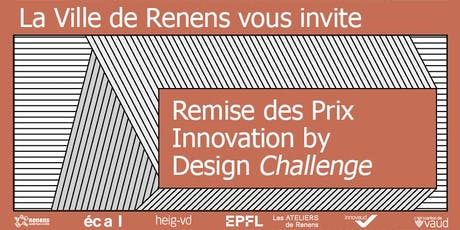 Remise des Prix Innovation by Design Challenge 2019 billets