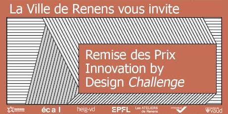 Remise des Prix Innovation by Design Challenge 2019 tickets