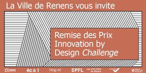 Remise des Prix Innovation by Design Challenge 2019