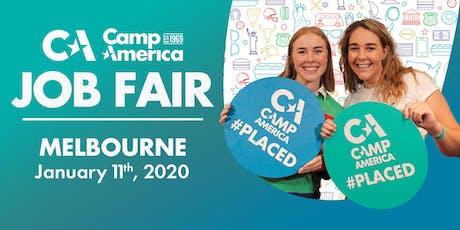 Camp America JOB FAIR 2020 - Melbourne tickets