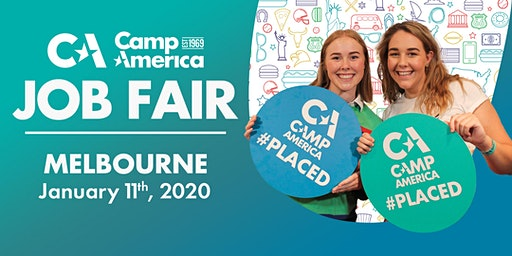 Camp America JOB FAIR 2020 - Melbourne