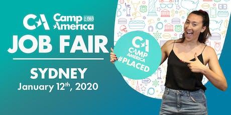 Camp America JOB FAIR 2020 - Sydney tickets