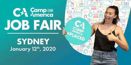 Camp America JOB FAIR 2020 - Sydney