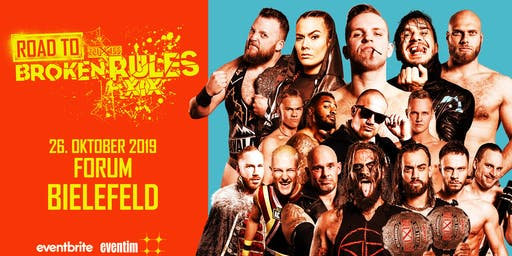 wXw Wrestling: Road to Broken Rules - Bielefeld