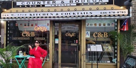 Boozy Bottomless Brunch ( Counter & Bodega)Best Latin Restaurant In Chelsea tickets