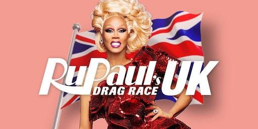 Ru Paul Drag Race UK Screenings at Evies Disco Diner