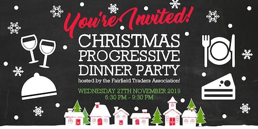 Fairfield Pre-Christmas Progressive Dinner