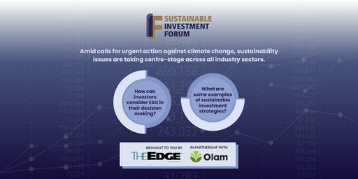 The Edge Singapore | Sustainable Investment Forum 2019