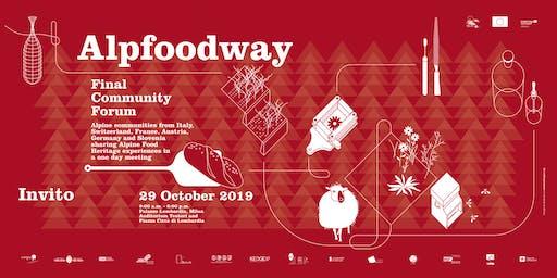 ALPFOODWAY  FINAL COMMUNITY FORUM