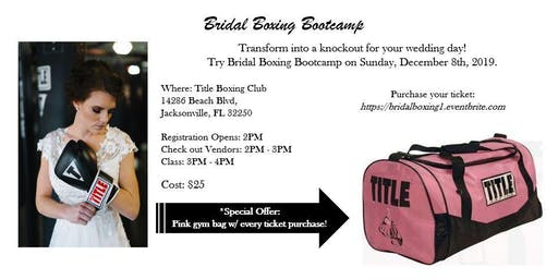 Bridal Boxing Bootcamp