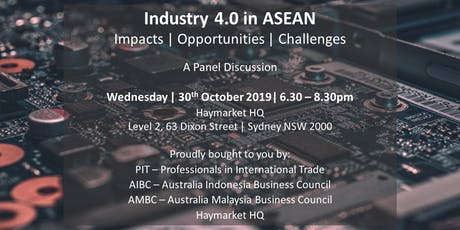 Industry 4.0 in ASEAN: A Panel Discussion tickets