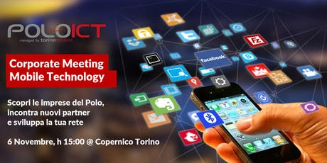 Corporate Meeting Mobile Technology biglietti