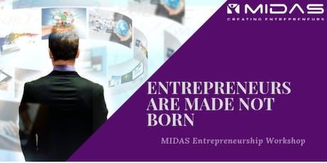 ENTREPRENEURS ARE MADE, NOT BORN - Entrepreneurship Workshop - Hyderabad tickets