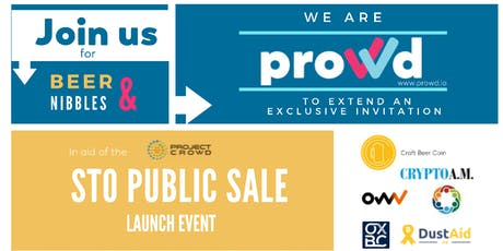 Prowd STO launch Event tickets