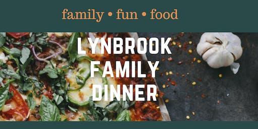 Lynbrook Family Dinner NOVEMBER 2019