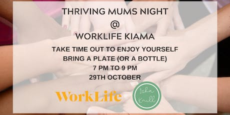Thriving Mums Night tickets