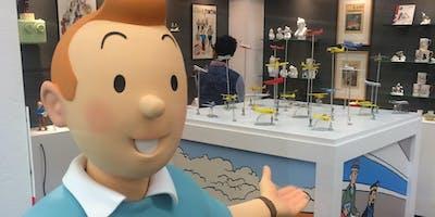 Erster offizieller Tim und Struppi Pop-up-Store ab 12.10. in Frankfurt/M.