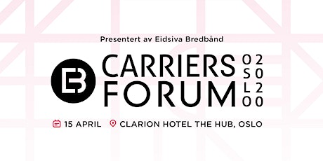 Carriers Forum 2020 tickets