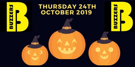 Buzzers Halloween Party