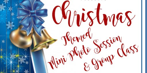 Christmas Themed Mini Photo Session and Group Class