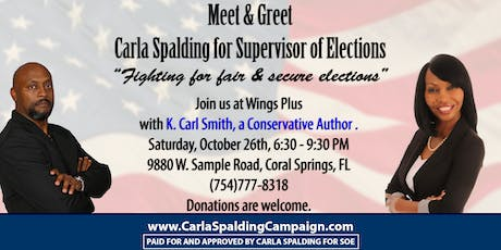 Meet and Greet Candidate Carla Spalding for Supervisor of Elections 2020 tickets