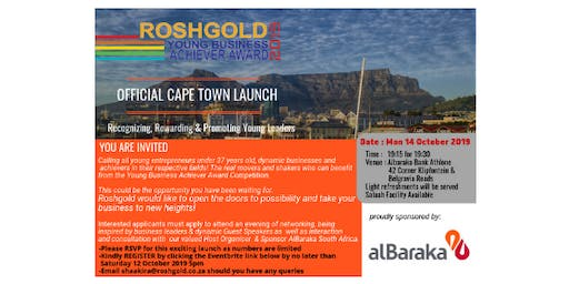 Official YBAA Cape Town Launch