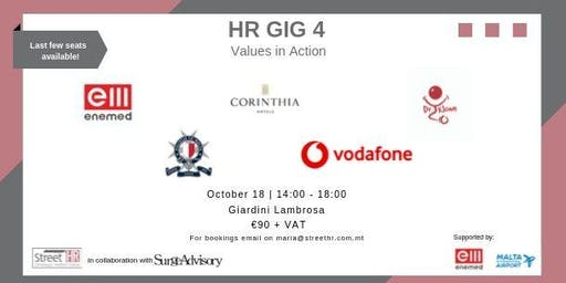 HR GIG  - Values in Action